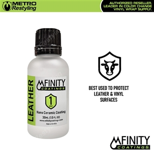 MFinity Nano Ceramic Coating for leather