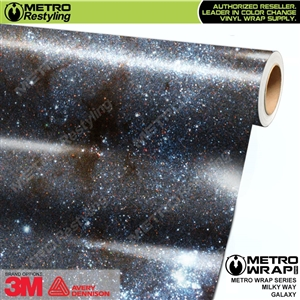Metro Milky Way Galaxy Vinyl Wrap Film
