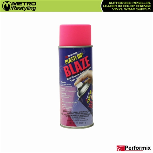 Performix Plasti Dip Multipurpose Rubber Coating Blaze Pink 11 Oz