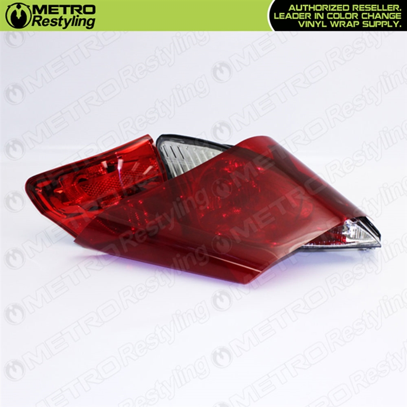 Our high quality red out vinyl films give your vehicle an aggressive ...