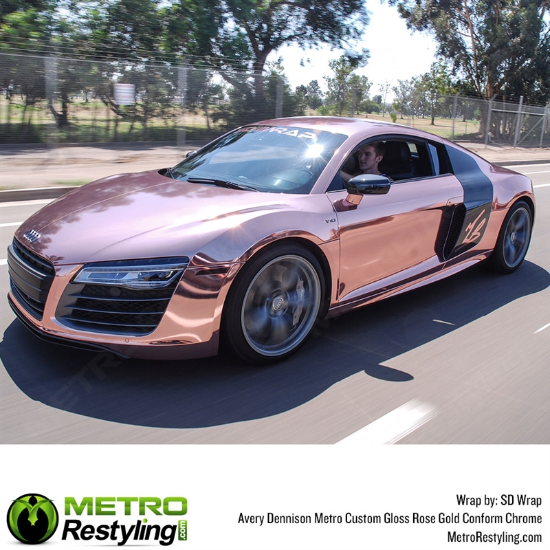 Metro Custom Gloss Rose Gold Chrome Shop Online Or Call 888 488