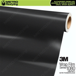 3M 1080 Scotchprint Satin Thundercloud Vinyl Wrap