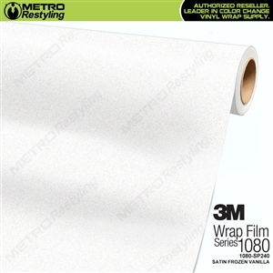 3M 1080 Scotchprint Satin Frozen Vanilla Vinyl Wrap