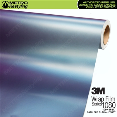 3M 1080 SP277 Satin Flip Glacial Frost vinyl vehicle wrap film