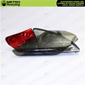Smoke Out Head Light Vinyl Film