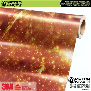 Metro Solar Flare Galaxy Vinyl Car Wrap Film