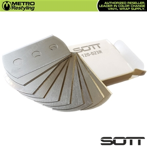SOTT Replacement Blades for Backing Cutter