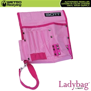 Sott Professional Wrap Tool Bag / Pouch - Pink