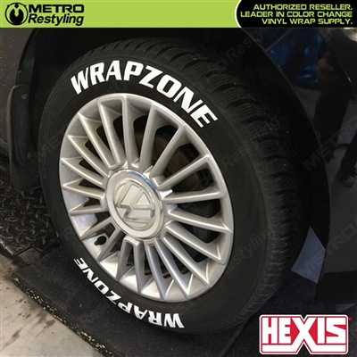 Hexis STICKNRIDE Vinyl Wrap for Tire Stickers & Graphics