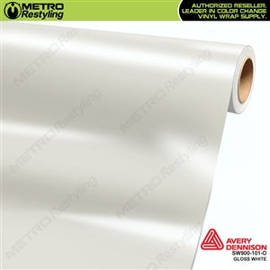 Avery SW900 Supreme Wrapping Vinyl Film Gloss White