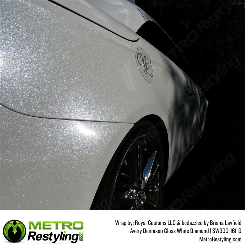 Avery Sw900 161 D Gloss White Diamond Automotive Vinyl