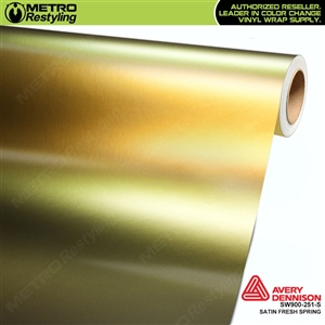 Avery SW900-251-S Color Flow Series Satin Fresh Spring iridescent car wrap vinyl.