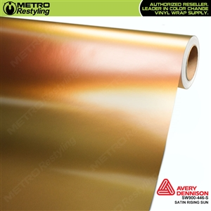 Avery SW900-446-S Color Flow Series Satin Rising Sun iridescent car wrap vinyl