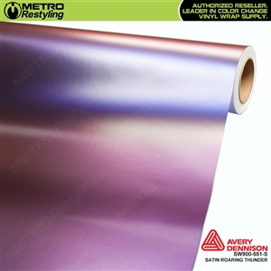 Avery SW900-551-S Color Flow Series Satin Roaring Thunder iridescent car wrap vinyl