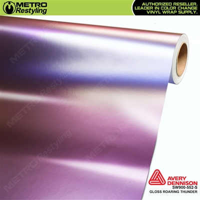 Avery SW900-552-S Color Flow Series Gloss Roaring Thunder iridescent car wrap vinyl