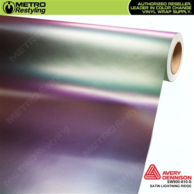 Avery SW900-610-S Color Flow Series Satin Lightning Ridge iridescent car wrap vinyl