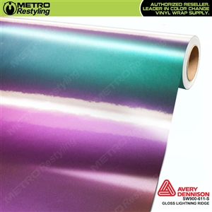Avery SW900-611-S Color Flow Series Gloss Lightning Ridge iridescent car wrap vinyl