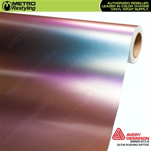 Avery SW900-673-S Color Flow Series Satin Rushing Riptide iridescent car wrap vinyl