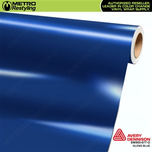 Avery SW900 Supreme Wrapping Vinyl Film Gloss Blue
