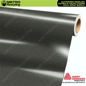Avery SW900-859-M Gloss Metallic Meteorite vinyl wrap film ideal for car wrapping.