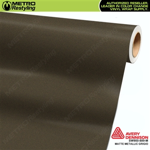 Avery Dennison SW900-889-M Supreme Wrapping Film Matte Metallic Grigio car wrap film.