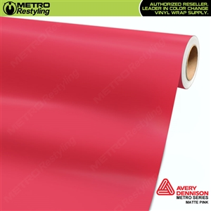 Avery SW900 Supreme Wrapping Vinyl Film Matte Pink