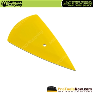 The Contour Yellow Installation Squeegee (flex-firm)