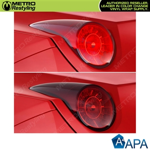 APA Tail Light Cast Smoke Out Vinyl Film