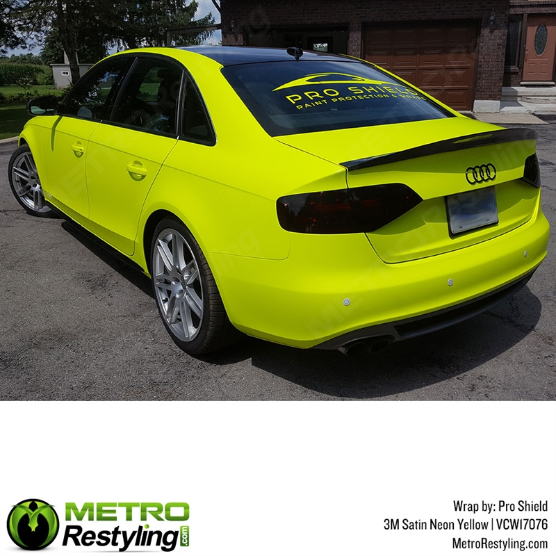 Neon Yellow Car Wrap 3m Neon Yellow Vinyl Metro Restyling,Home Indian Baby Shower Decorations