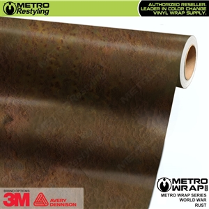 Metro World War Rust Vinyl Car Wrap Film