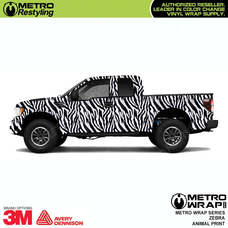 Image of: Zebra Pattern Have Metro Restyling Metro Animal Print Zebra Vinyl Wrap Film Shop Online Or Call 888