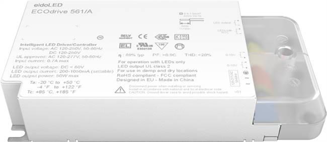 ECOdrive 561A - eldoLEDLED Driver Terminal Connection LED Lighting