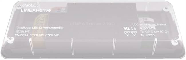 Infinite colour control LED Drivers - LINEARdrive 211D LED Lighting