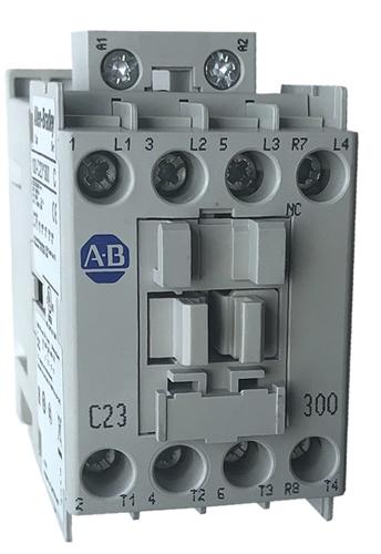 Allen Bradley 100-C23*300 4 pole contactor | 3 NO/1 NC 23 AMP
