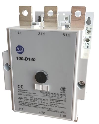 Allen Bradley 100-D140 | 3 pole 140 AMP AC contactor