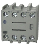 Allen Bradley 100-F front mounted auxiliary contact