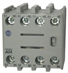 Allen Bradley 100-FA04 front mounted auxiliary contact