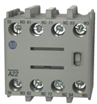Allen Bradley 100-FA22 front mounted auxiliary contact