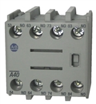 Allen Bradley 100-FA40 front mounted auxiliary contact