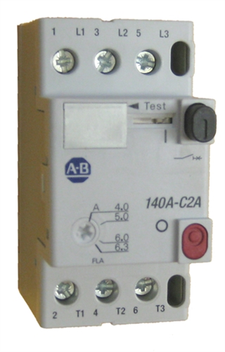 allen bradley 140a c2a b63 manual motor starter adjusts from 4 0 Motor Starter Nema Size 4 allen bradley 140a c2a b63 manual motor starter � view larger photo email