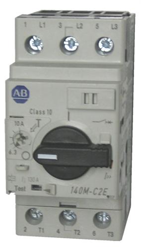 140m-c2e-c16   allen bradley 415 v motor protection circuit.