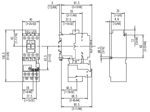 allen bradley relay wiring diagram allen bradley 193 t 3 phase bimetallic class 10 overload relay  allen bradley 193 t 3 phase bimetallic