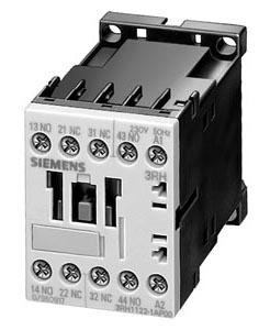 AC Operation Siemens 3RH11 22-1AP60 Control Relay Size S00 2 NO Screw Connection 240 V 60 Hz Control Supply Voltage 35mm Standard Mounting Rail 2 NC Contacts 22 E Identification Number
