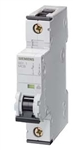 Siemens 5SY4106-7 6 AMP Single Pole Breaker