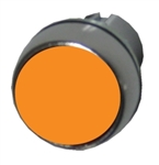 Allen Bradley 800FM-F0 orange metal pushbutton