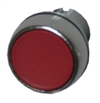 Allen Bradley 800FM-F4 red metal pushbutton