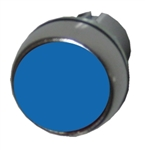 Allen Bradley 800FM-F6 blue metal pushbutton