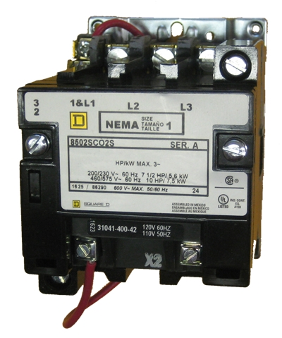 Square D 8502SCO2S Size 1 NEMA rated 27 AMP contactor with a ... on 3 phase fan wiring, 3 phase breaker wiring, 3 phase magnetic contactor, 3 phase receptacle wiring, 3 phase electrical wiring, 3 phase compressor wiring, 3 phase starter wiring, 3 phase panel wiring, 3 phase heater wiring, 3 phase switch wiring, 3 phase pump wiring, 3 phase wiring symbols, 3 phase electrical installation, 3 phase transformer wiring, 3 phase connector wiring, 3 phase contactor with overload, 3 phase plug wiring, 3 phase brake wiring, 3 phase overload wiring, 3 phase meter wiring,