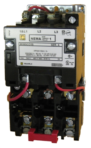 Square D Nema Size 0 Motor Starter Wiring Diagram | Repair Manual on
