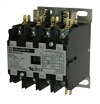 Square D 8910DPA24V02 4-pole Definite Purpose Contactor
